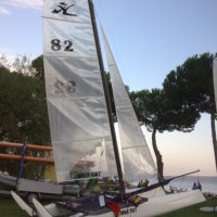 Vendo Hobie Cat Wild F18