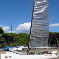 vendo catamarano hobie tiger f.18 anno 2007